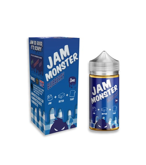 Jam Monster Blueberry Jam E Liquid