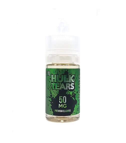 Hulk Tears Salt Nic By Mighty Vapors Eliquid