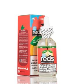 Reds Guava Apple Iced Eliquid - 7 Daze Eliquid