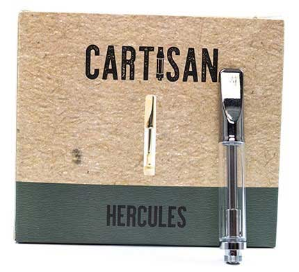 Hercules empty ccell 1ml 510 cartridges by cartisan