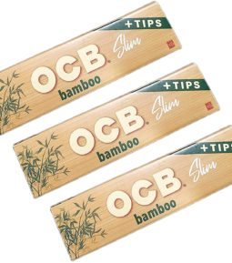 ocb rolling paper slim and tips