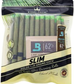 King Palm Slim Size 25 pack