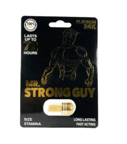 Mr. Strong Guy Male Enhancement Pill single pack